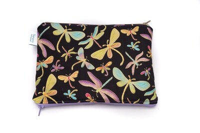 Small Double-sided Wet/dry Bag -Dragonfly
