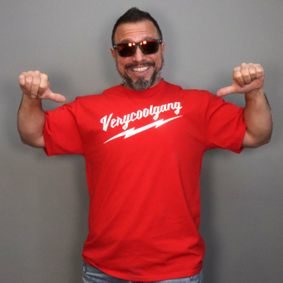 VERYCOOLGANG Thunderbolt T-SHIRT  *LIMITED TIME & QUANTITY*