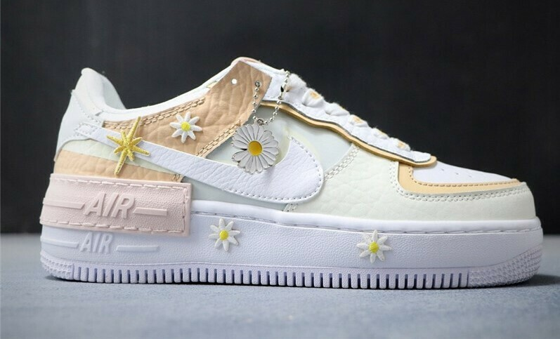 """Nike Air Force 1 - """"Flower Power"""" - Customized"""