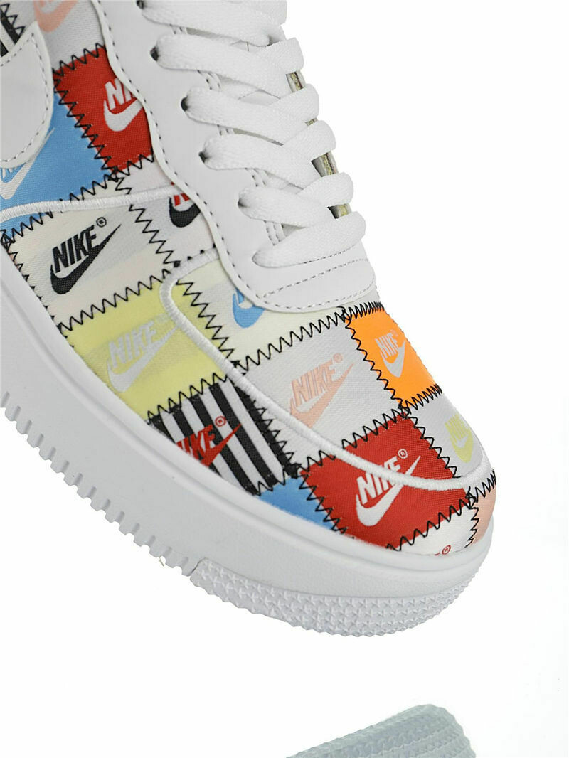 """Nike Air Force 1 """"Patchwork"""" - Customized"""