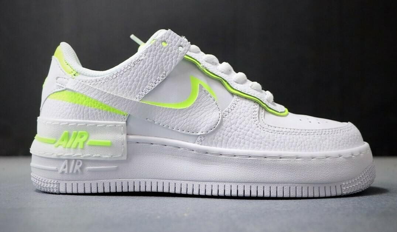 "Nike Air Force 1 ""Pretty Pistache"" Customized"