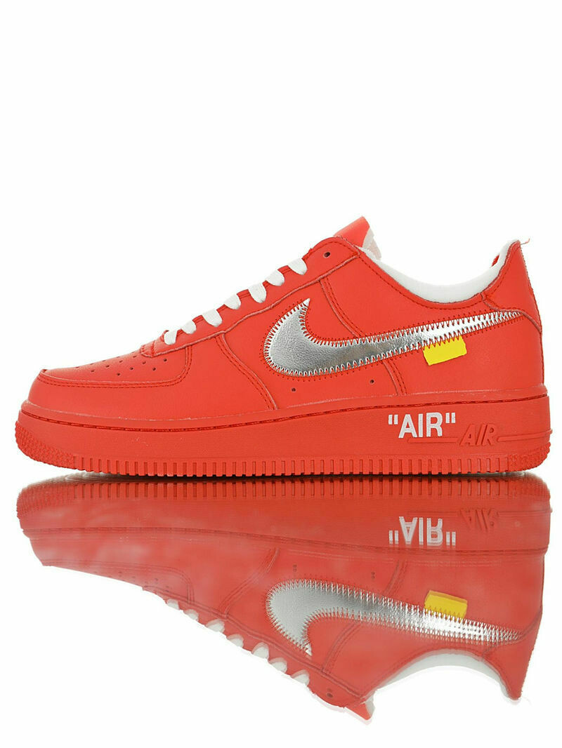 """Nike Air Force 1 """"Agent Red"""" - Customized"""