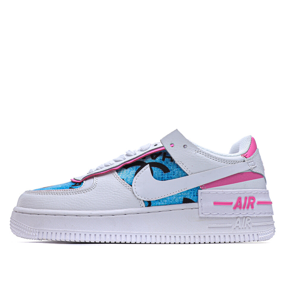 Air Force 1 'China Blue CC' - Customized