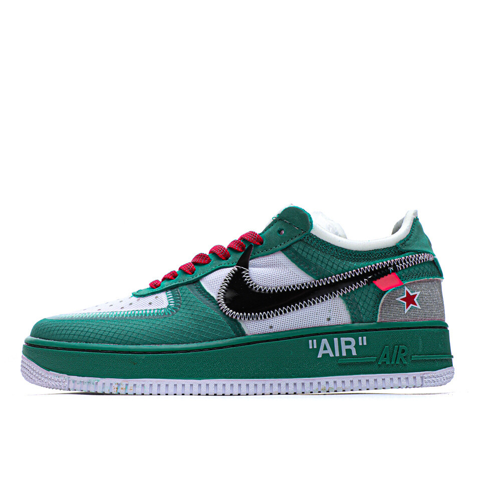 "Air Force 1 ""Green Air"" - Customized"