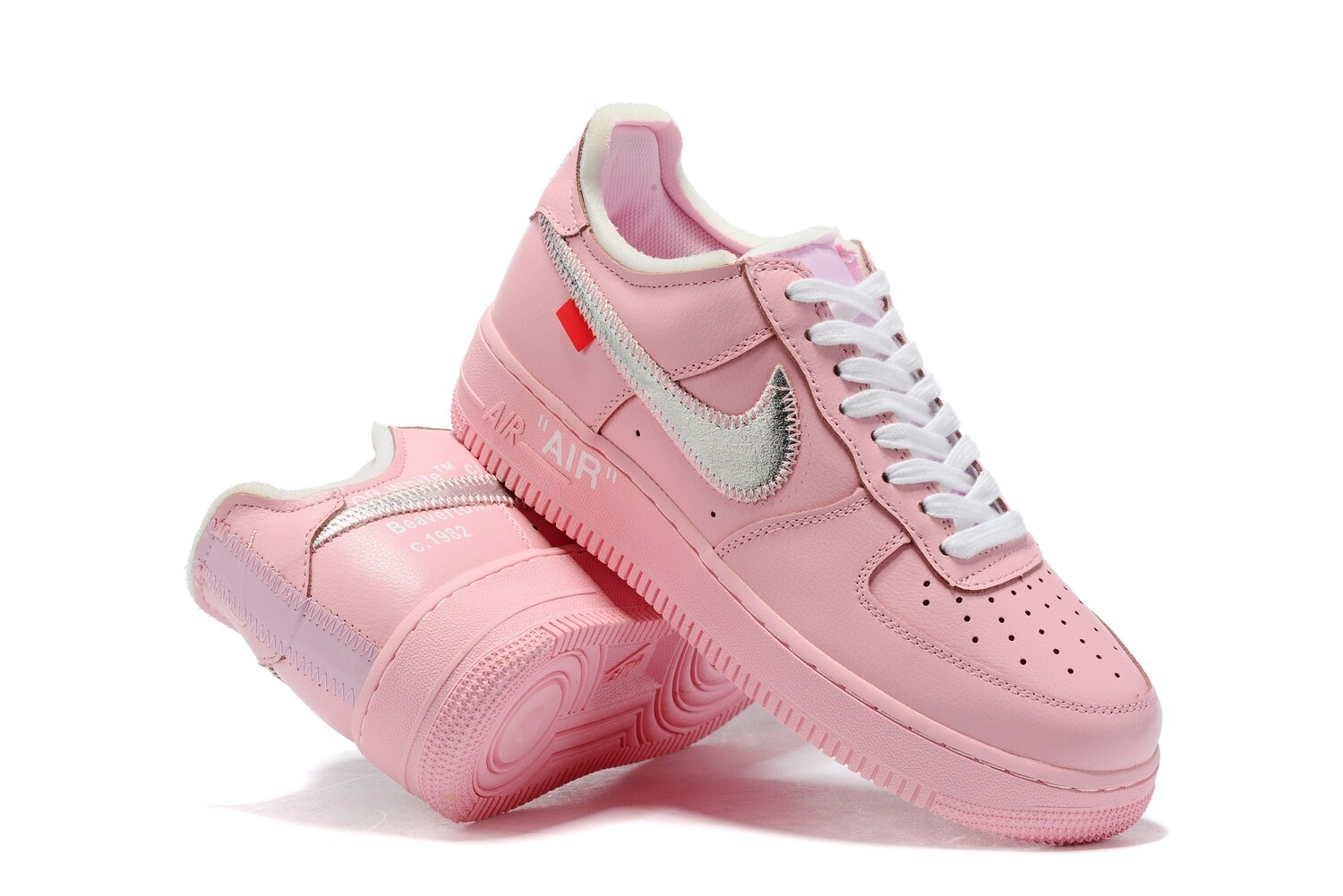 """Air Force 1 """"Pink Parrot"""" - Customized"""