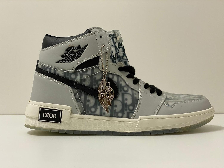 Custom Sneaker - High D-Grey