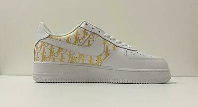 Custom Sneaker - Nike AF1 D-Gold