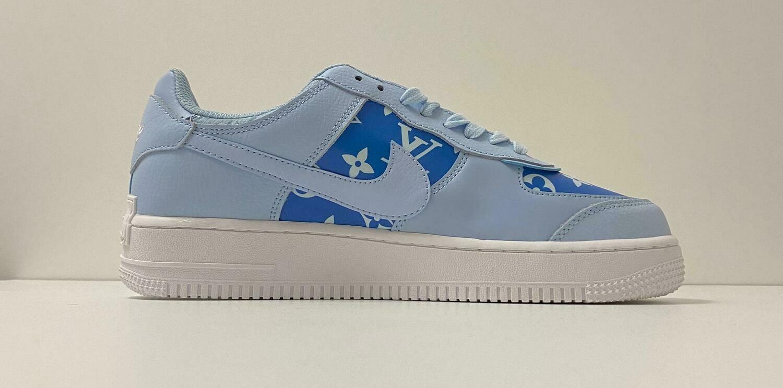 Custom Sneaker - Nike AF1 LV-Blue