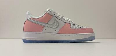 Custom Sneaker - Nike AF1 Pink White