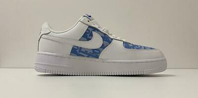 Custom Sneaker - Nike AF1 BlueD Style