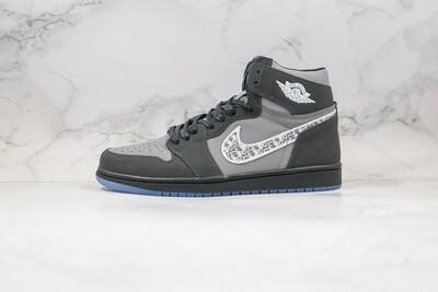 Custom Sneaker - High D-Black