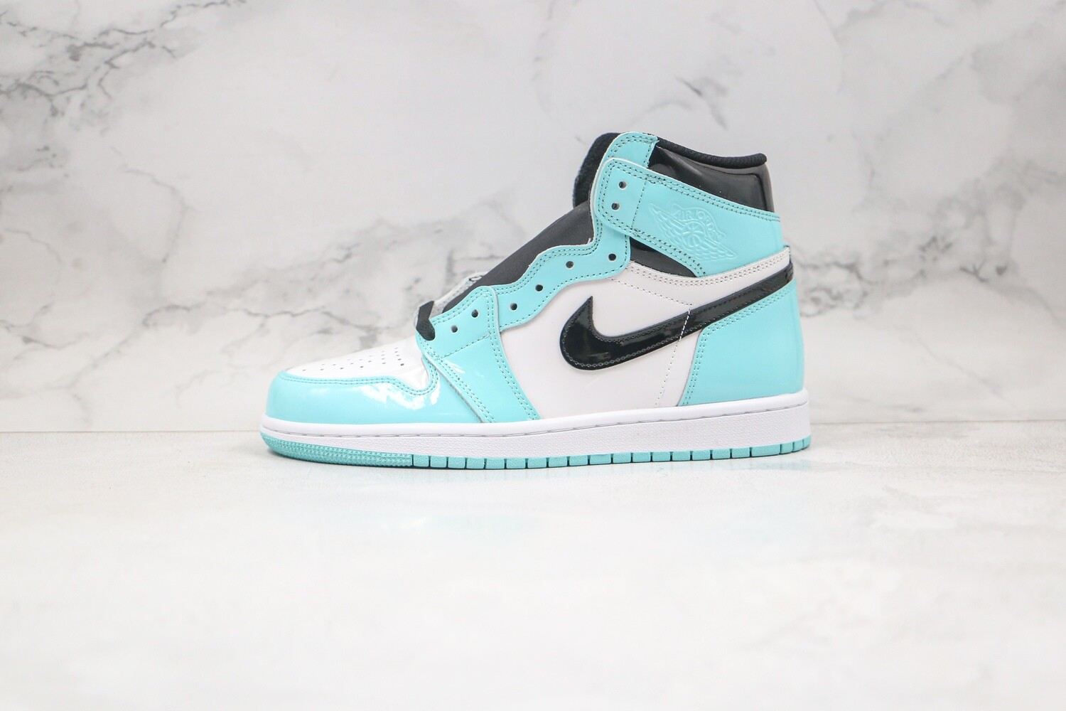 Custom Sneaker - Tiffany's Patent Leahter