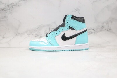 Custom Sneaker - Tiffany's Patent Leahter
