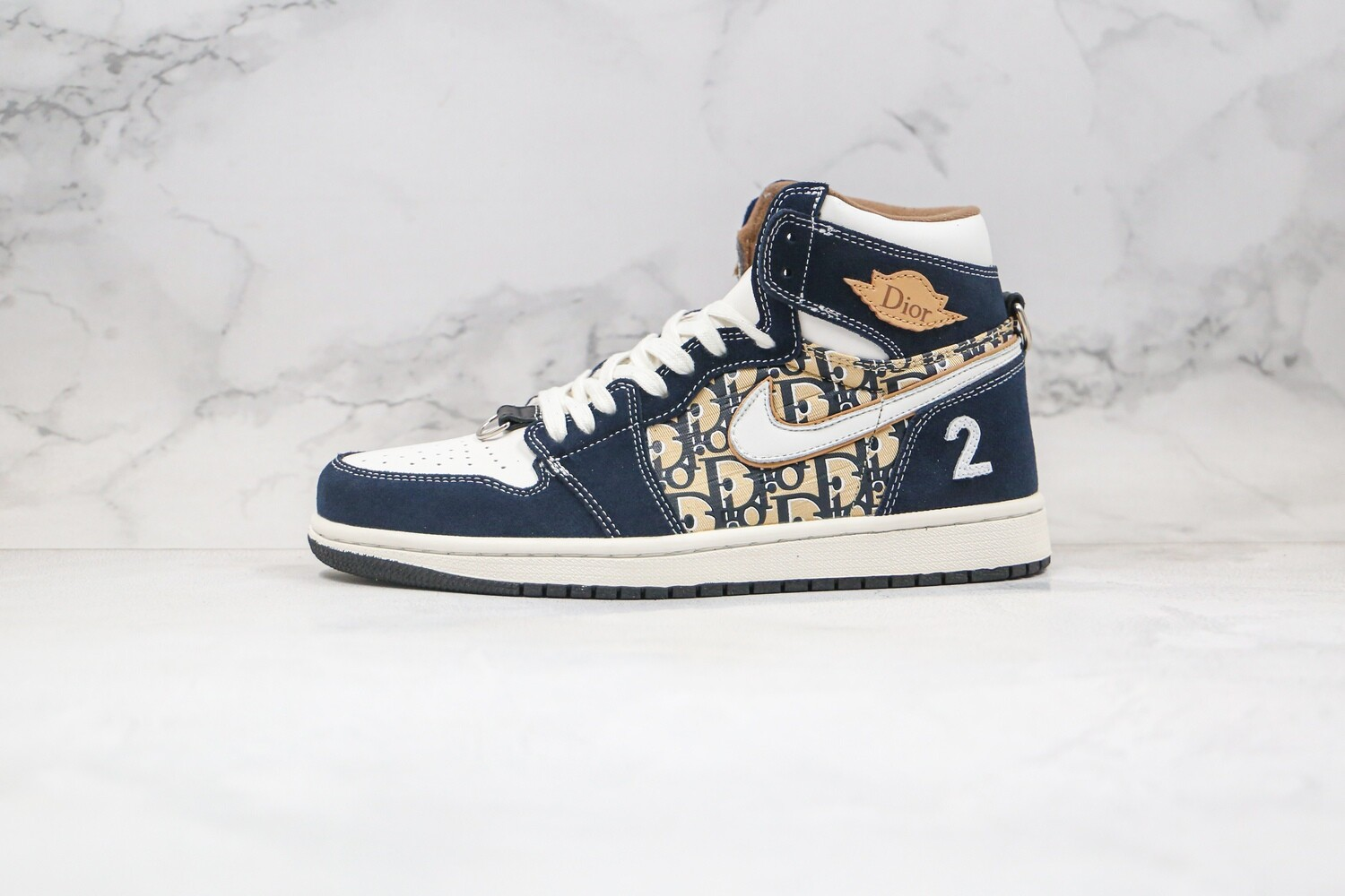 Custom Sneaker - Swed BlueD