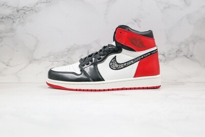 Custom Sneaker - Red Black HighD