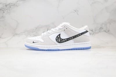 Custom Sneaker - Nike Dunk Low Light Grey