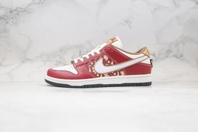 Custom Sneaker - Nike Dunk Red BeigeD Low