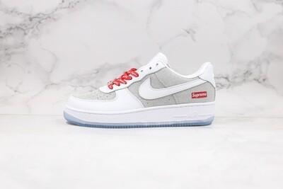 Custom Sneaker - Nike Air Force 1 Silver SUP