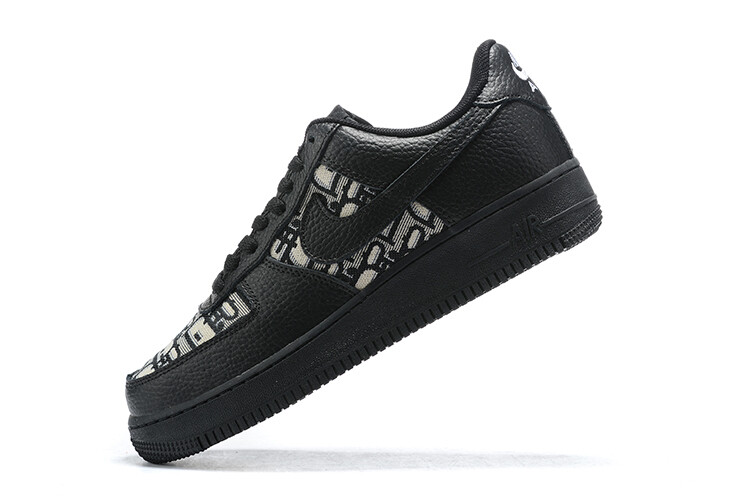 "Air Force 1 ""LowD Black"" - Customized"