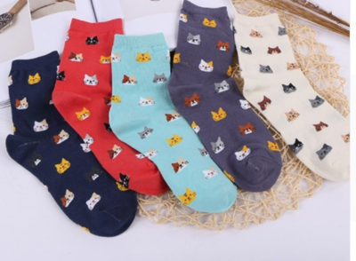 Kitty Face Cat Socks