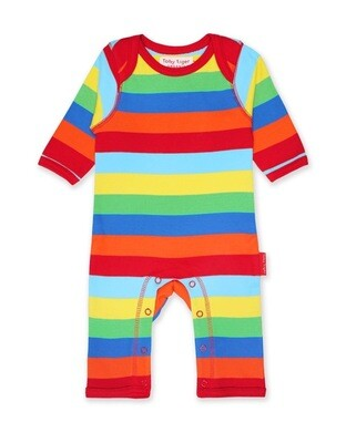 Multi Stripe Sleepsuit