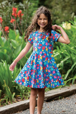 Spring Skater Dress - Lotus Bloom