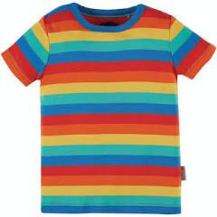Favourite Tshirt Rainbow Stripe
