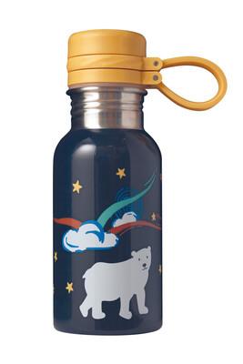 Splish Splash Steel Bottle - Indigo/ Polar Bear