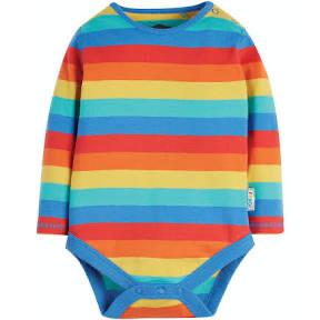 Everyday Body Long Sleeve - Rainbow Stripe