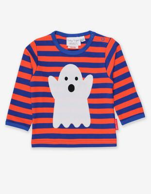 Ghost Appliqué Long Sleeve T-shirt