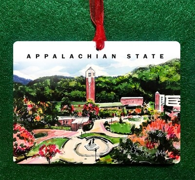 Boone, NC - Appalachian State University Ornament