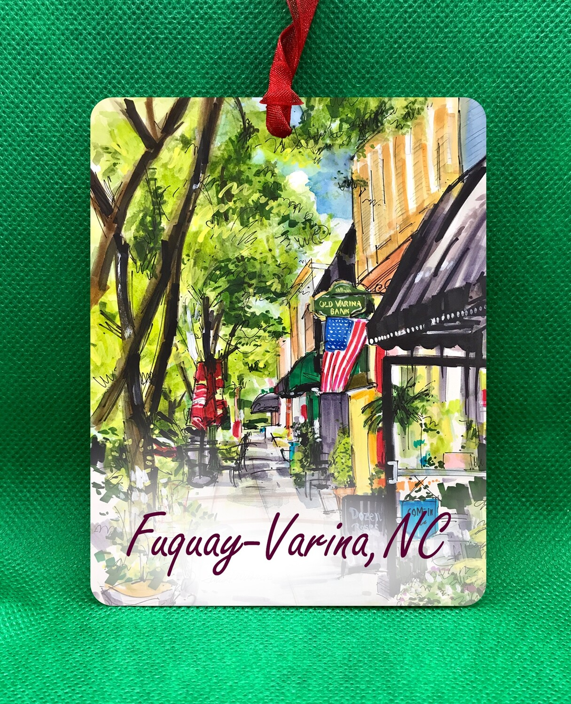 Fuquay-Varina, NC - Fuquay-Varina - Main Street Ornament