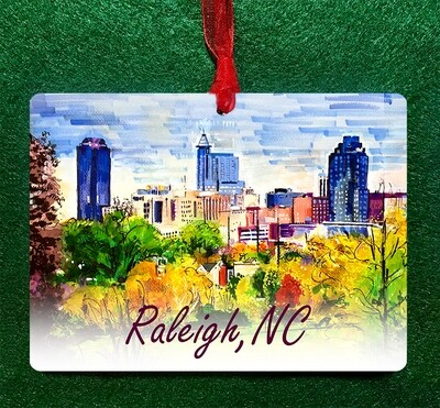 Raleigh, NC - Hey Raleigh! Ornament