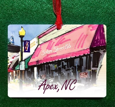 Apex, NC - Salem Street Pub Ornament