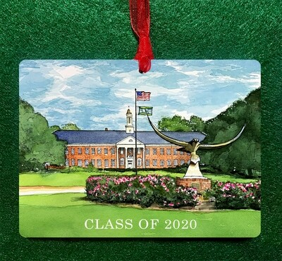 Wilmington, NC - UNCW Wilmington Personalized Ornament