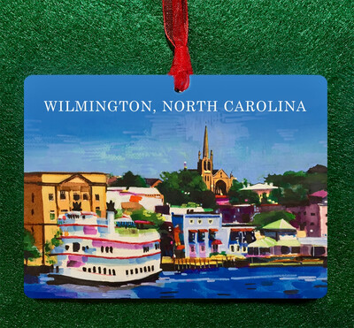 Wilmington, NC - Riverfront Ornament