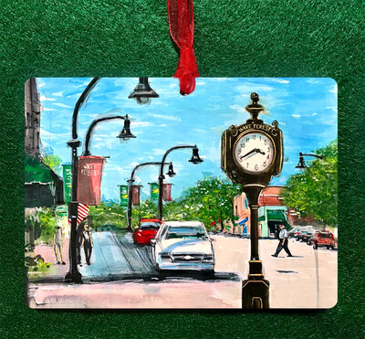 Wake Forest, NC - Hey Wake Forest Ornament