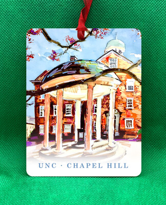 Chapel Hill, NC - UNC Old Well Ornament