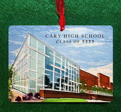 Cary , NC - Cary High School Personalized Ornament
