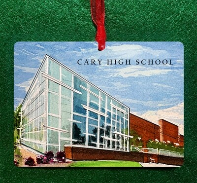 Cary , NC - Cary High School Non-Personalized Ornament