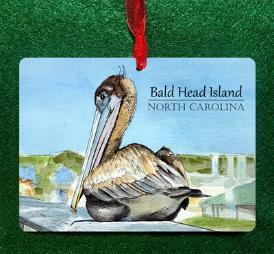 Custom - Pelican Ornament PERSONALIZED