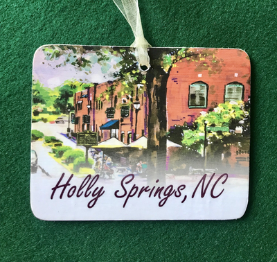 Holly Springs, NC - Holly Springs Ornament