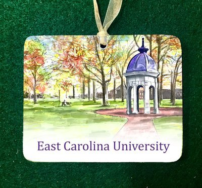 Greenville, NC - ECU - Cupola Ornament