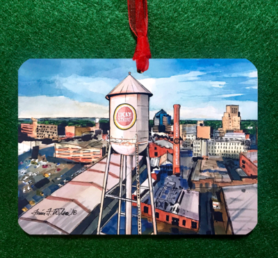 Durham, NC - Lucky Strike Ornament
