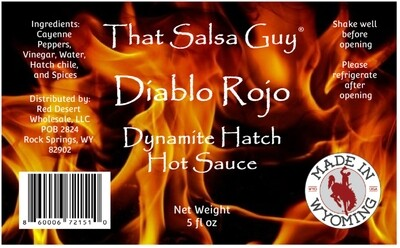 Diablo Rojo Hot Sauce