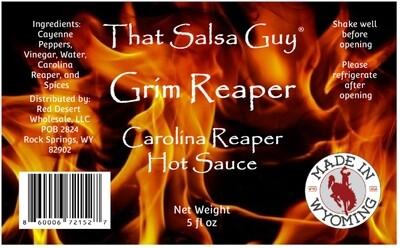 Grim Reaper Carolina Reaper Hot Sauce