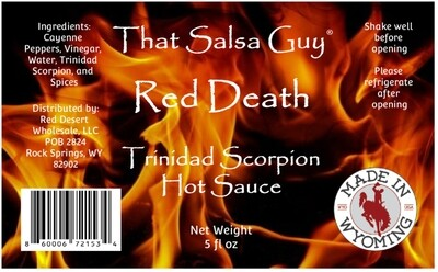Red Death Trinidad Scorpion Hot Sauce