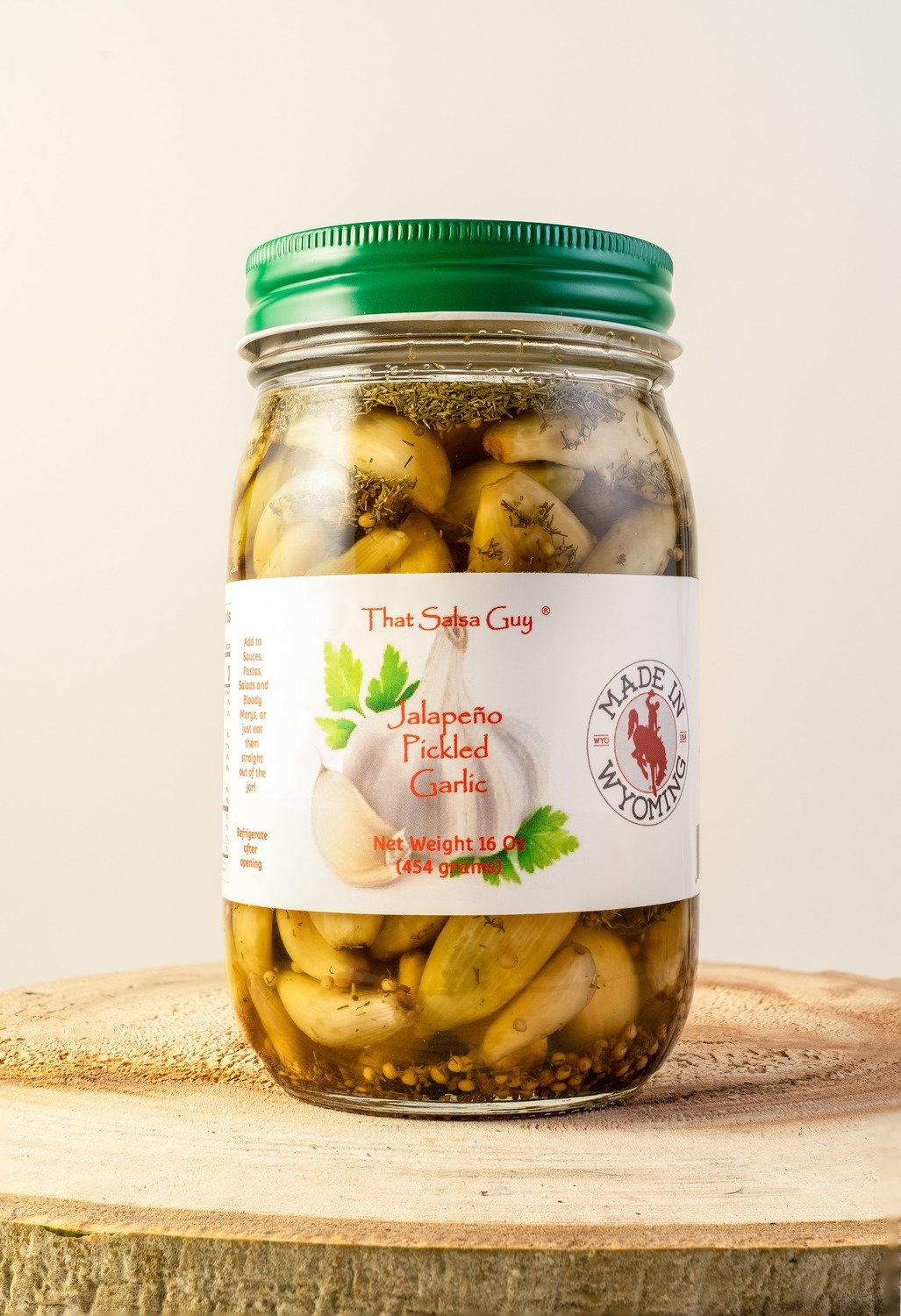 Jalapeño Pickled Garlic  (Temporarily out of stock)