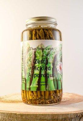 Zesty Pickled Asparagus