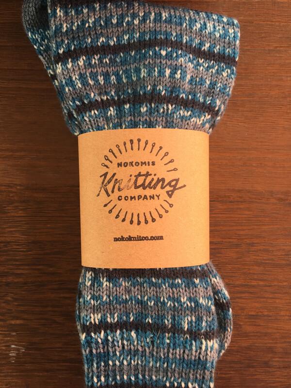 Men's Crew Sock Size 11 - 12 Aktiv Water Blues